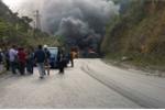 Xe khách chở người Việt nổ tung tại Lào, 8 người chết