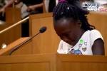 Bài phát biểu của bé gái da màu 9 tuổi khiến cả nước Mỹ chết lặng