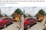 Nghi vấn tài xế vi phạm bị lái xe cẩu hành hung trước mặt CSGT: Lãnh đạo đơn vị nói gì?