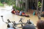 Lũ dâng cao bất thường, gần 2.000 ngôi nhà ở Quảng Trị ngập sâu