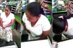 'Nữ quái' trộm cả 'núi' đồ trong siêu thị, giấu dưới váy bị phát hiện