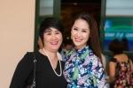 Cả gia đình Hoa hậu Dương Thùy Linh đi ủng hộ em chồng - thần đồng piano quốc tế