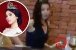 Clip: Hoa hậu Kỳ Duyên phì phèo hút thuốc nơi công cộng