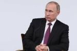 Chiều nay ông Putin trả lời báo chí cuối năm lần thứ 12