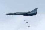 Chiến cơ Nga 'rải thảm' bom xuống căn cứ khủng bố ở Syria
