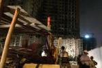 Đình chỉ thi công công trình sập giàn giáo, 6 người bị thương ở Đà Nẵng