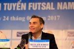 Tân HLV trưởng Futsal Việt Nam: 'Tôi đủ năng lượng để làm liên tục 24h/ngày'