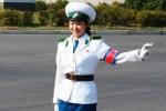 Bí ẩn nghề nữ cảnh sát giao thông Triều Tiên