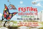 Festival diều quốc tế Ecopark 2016 'Bản hoà ca của những cánh diều'