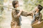 Ảnh kỷ yếu 'Cho tôi một vé về tuổi thơ' của học sinh Hà Tĩnh