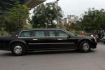 Video: Dàn siêu xe rời khách sạn ra Nội Bài đón Tổng thống Obama