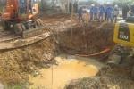 Thi công đường ống nước sông Đà 2: Tạm dừng ký hợp đồng với nhà thầu Trung Quốc