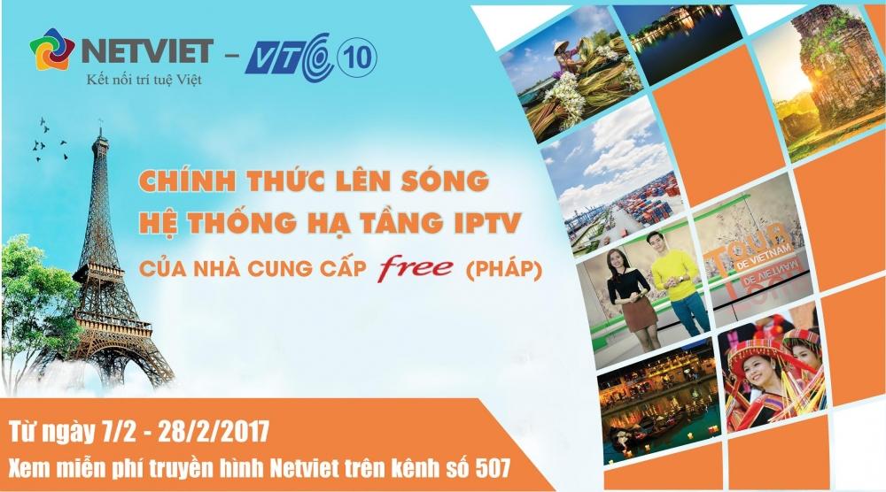 Netviet – VTC10 chinh thuc len song tren he thong cua nha cung cap FREE TV tai Phap hinh anh 3