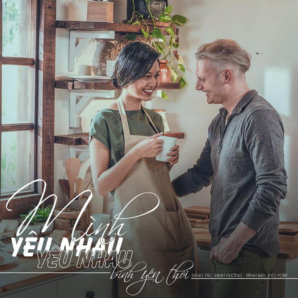 A hau Thanh Tu cung Kyo York ke chuyen tinh day lang man hinh anh 1