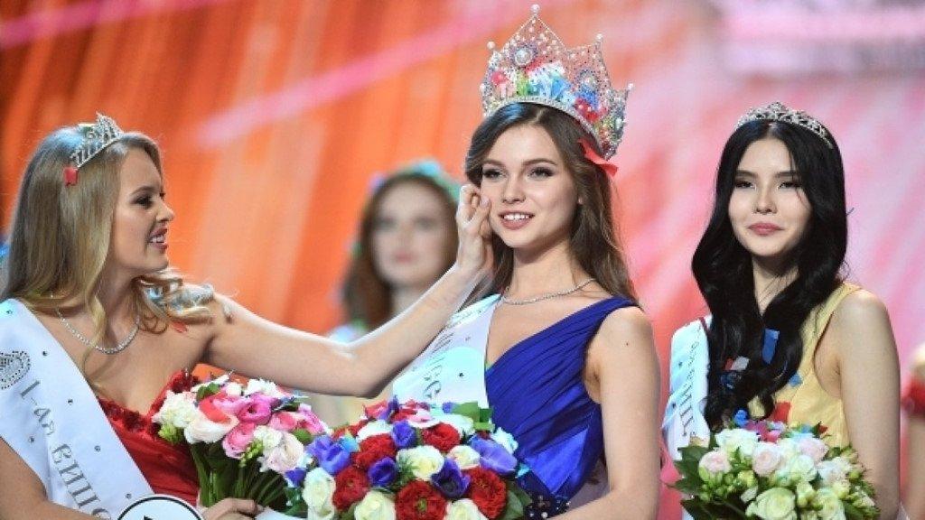 Van dong vien 18 tuoi dang quang Hoa hau Nga 2018 hinh anh 5