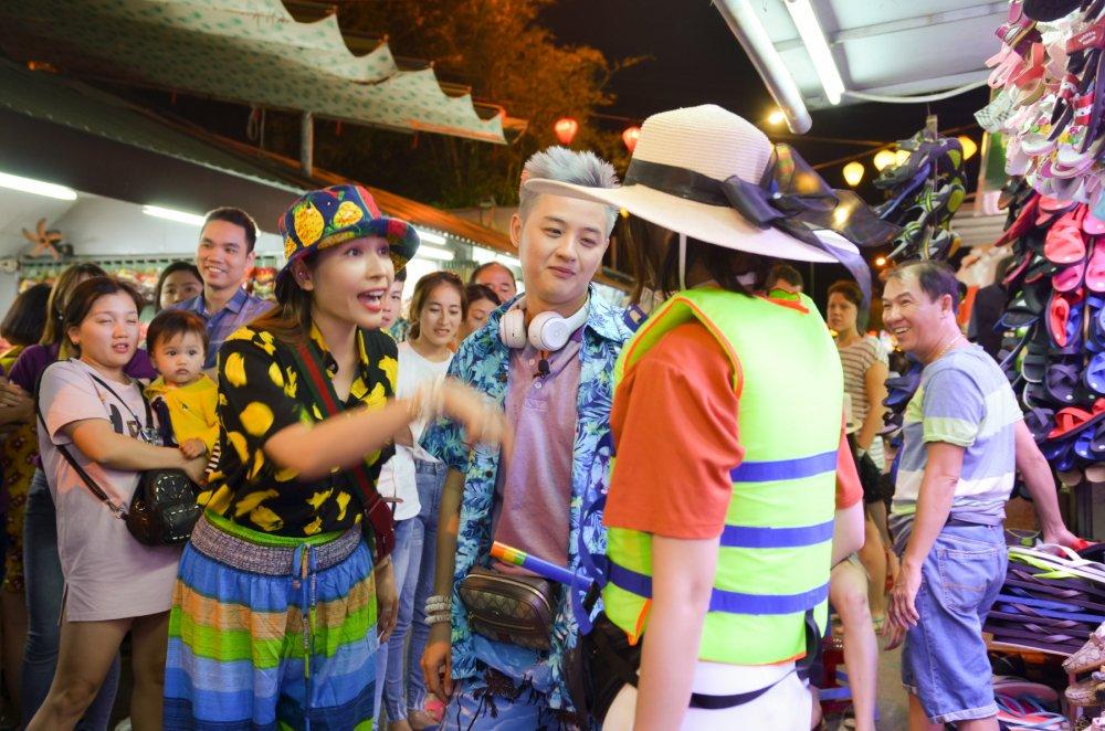 Kha Nhu, Lieu Ha Trinh 'vet sach' tui Thanh Duy khi cung di du lich hinh anh 10