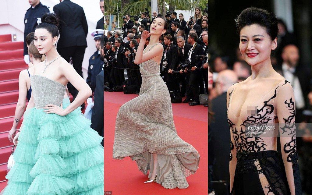 Thay gi khi Luong Trieu Vy bo mac vo va loat sao nu bi duoi o Cannes? hinh anh 4
