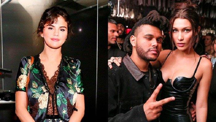 Selena Gomez het toang khi thay The Weeknd tai hop voi Bella Hadid? hinh anh 1
