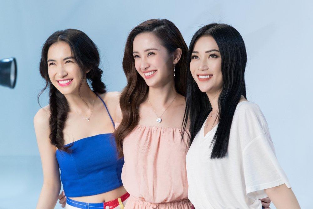 Hoa Minzy – Jun Vu cung Sy Thanh dien bikini, khoe dang quyen ru tren bien hinh anh 5