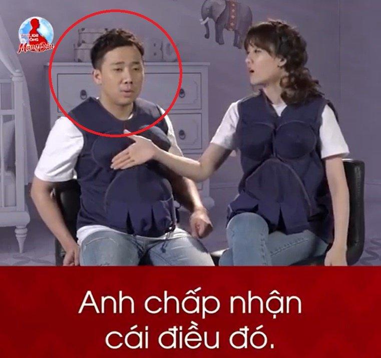 Loat khoanh khac hai huoc cua Tran Thanh - Hari Won tai 'Khi dan ong mang bau' hinh anh 4