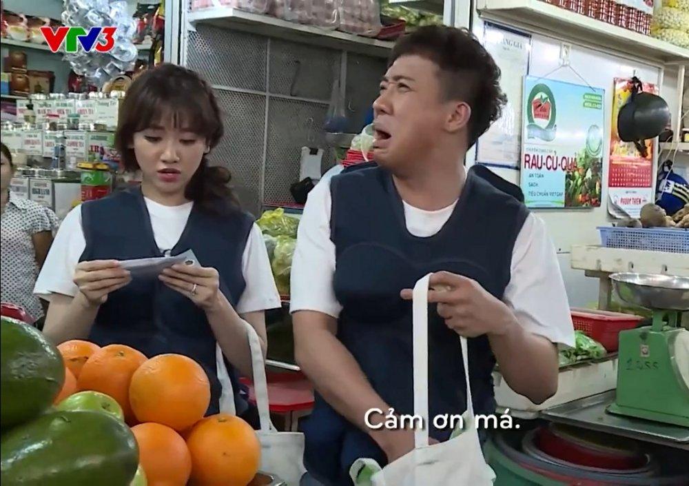 Loat khoanh khac hai huoc cua Tran Thanh - Hari Won tai 'Khi dan ong mang bau' hinh anh 2