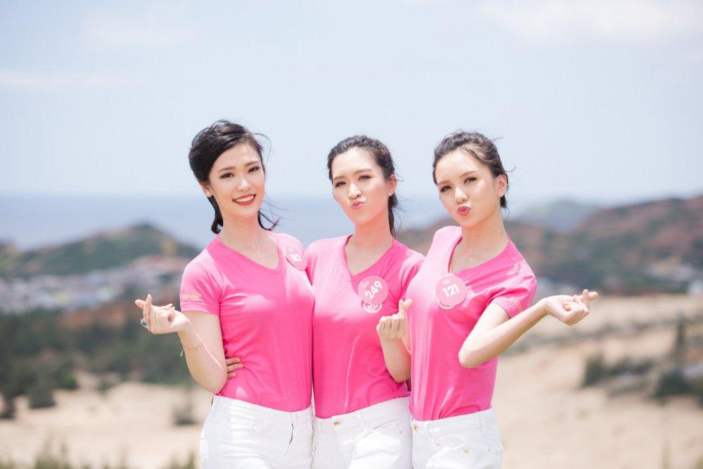 Thi sinh chung khao phia Nam Hoa hau Viet Nam 2018 doi nang tham gia trong cay hinh anh 10