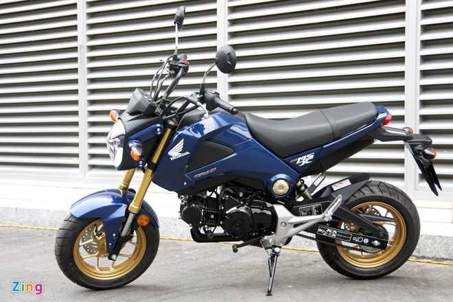 Honda MSX 125 ban duoi gia de xuat gan 5 trieu dong hinh anh 1