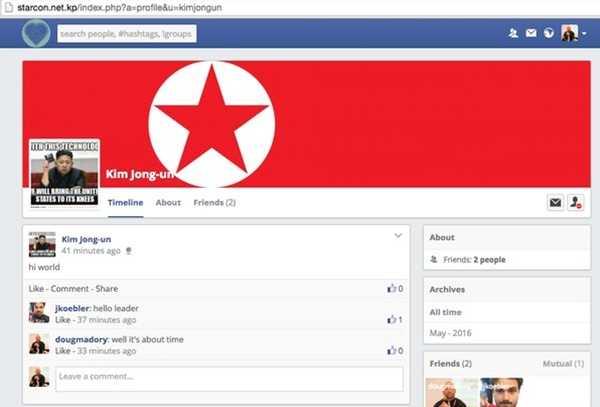 'Facebook cua Trieu Tien' khien cong dong mang kinh ngac hinh anh 1