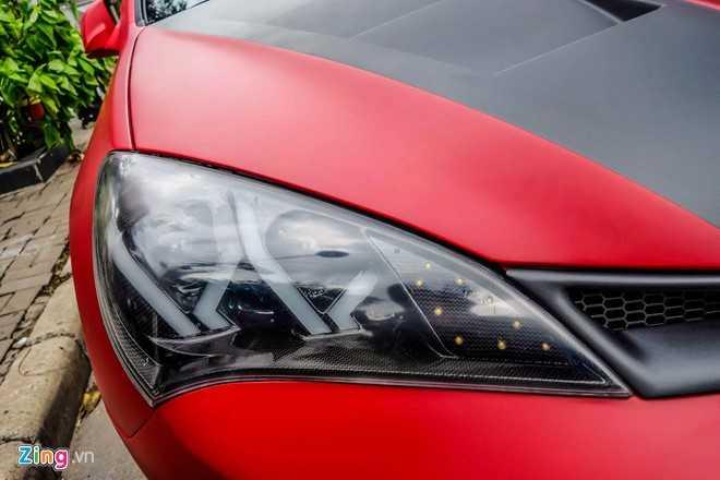 Hyundai Genesis do phong cach quai nhan Deadpool o Sai Gon hinh anh 7