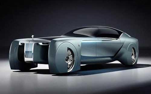 Mau xe Rolls-Royce dep 'khong tuong' trong tuong lai hinh anh 1