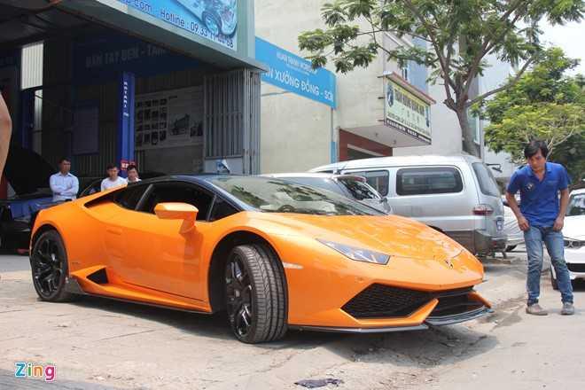 Ngam loat sieu xe Lamborghini do dinh dam tai Viet Nam hinh anh 16