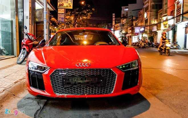Sieu xe Audi R8 V10 Plus ve tay thieu gia Phan Thanh hinh anh 1