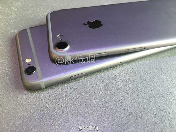 Can canh iPhone 7 so dang voi iPhone 6S hinh anh 1