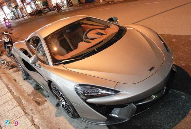 McLaren 570S - doi thu Lamborghini Huracan tai Sai Gon hinh anh 1