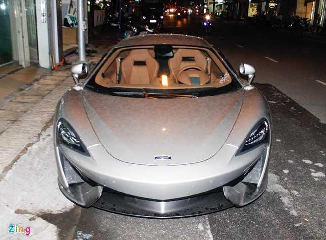 McLaren 570S - doi thu Lamborghini Huracan tai Sai Gon hinh anh 5