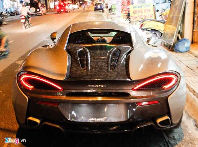 McLaren 570S - doi thu Lamborghini Huracan tai Sai Gon hinh anh 4