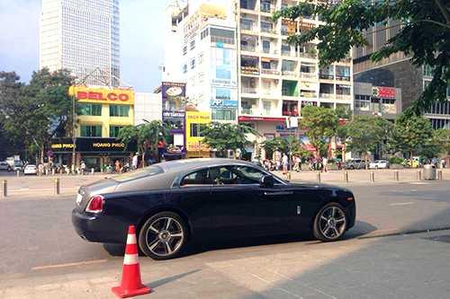 Rolls-Royce Wraith gia 18 ty lan banh tai Viet Nam hinh anh 1