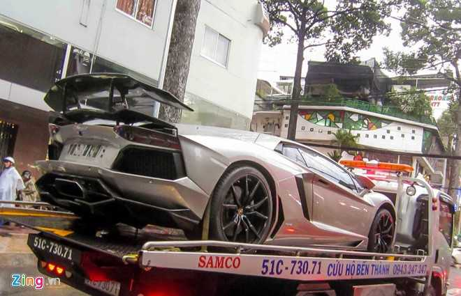 Lamborghini Aventador ban do dau tien ve Viet Nam hinh anh 4
