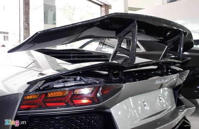 Lamborghini Aventador ban do dau tien ve Viet Nam hinh anh 5