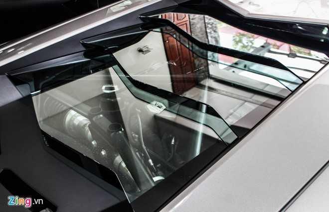 Lamborghini Aventador ban do dau tien ve Viet Nam hinh anh 8
