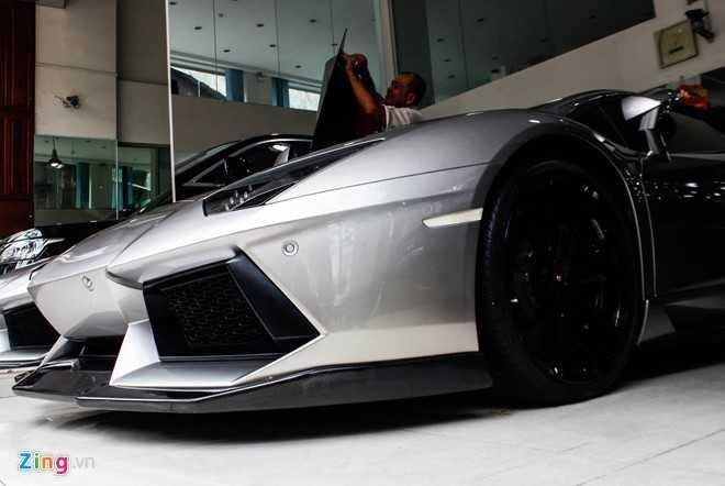 Lamborghini Aventador ban do dau tien ve Viet Nam hinh anh 9