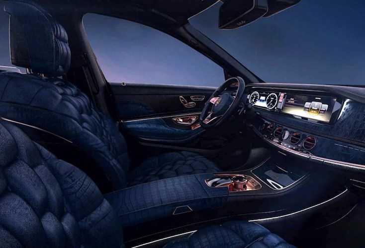 Ve dep Mercedes-Maybach S600 ma vang gia 33 ty dong hinh anh 5