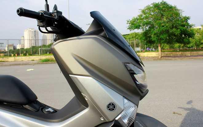 Soi Yamaha NM-X 155 doi thu 'khong doi troi chung' cua Honda PC-X hinh anh 10