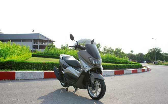 Soi Yamaha NM-X 155 doi thu 'khong doi troi chung' cua Honda PC-X hinh anh 13