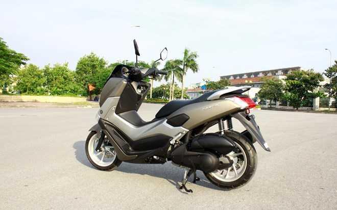 Soi Yamaha NM-X 155 doi thu 'khong doi troi chung' cua Honda PC-X hinh anh 15