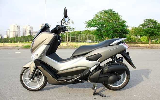 Soi Yamaha NM-X 155 doi thu 'khong doi troi chung' cua Honda PC-X hinh anh 1
