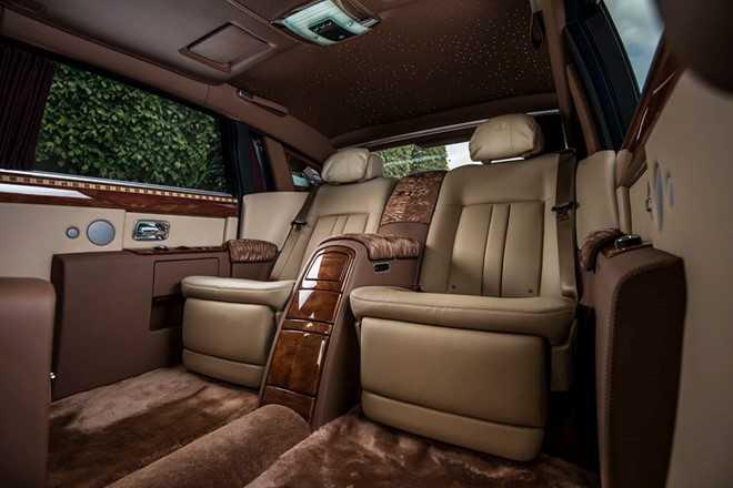 Ngam Rolls-Royce Phantom ban Hoa binh Vinh quang cua dai gia Viet hinh anh 4