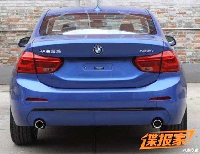 Soi do 'hot' cua BMW 1 Series Sedan gia 'sieu re' hinh anh 3