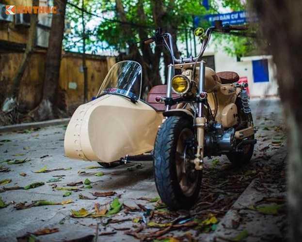 Honda Super Cub do 'cuc doc' tai Ha Noi hinh anh 10