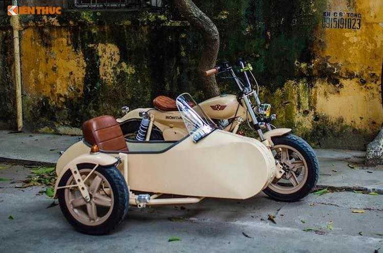 Honda Super Cub do 'cuc doc' tai Ha Noi hinh anh 3